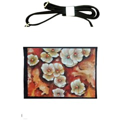 Fall Flowers No  6 Shoulder Sling Bags by timelessartoncanvas
