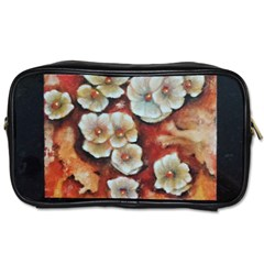 Fall Flowers No  6 Toiletries Bags by timelessartoncanvas