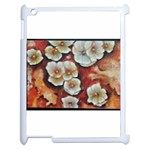 Fall Flowers No. 6 Apple iPad 2 Case (White) Front