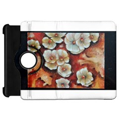 Fall Flowers No  6 Kindle Fire Hd Flip 360 Case by timelessartoncanvas