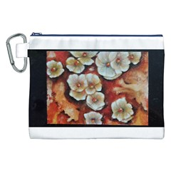Fall Flowers No  6 Canvas Cosmetic Bag (xxl)  by timelessartoncanvas