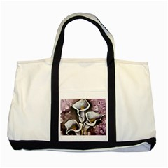 Gala Lilies Two Tone Tote Bag  by timelessartoncanvas