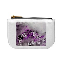 Shades Of Purple Mini Coin Purses by timelessartoncanvas