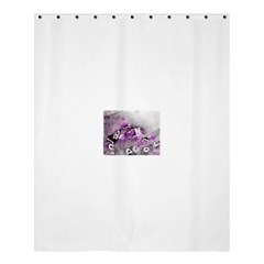 Shades Of Purple Shower Curtain 60  X 72  (medium)  by timelessartoncanvas