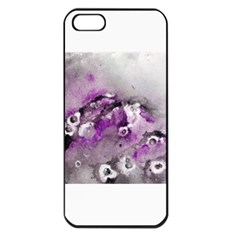 Shades Of Purple Apple Iphone 5 Seamless Case (black) by timelessartoncanvas