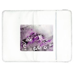 Shades Of Purple Samsung Galaxy Tab 7  P1000 Flip Case by timelessartoncanvas