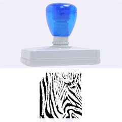 Unique Zebra Design Rubber Address Stamps (xl) by timelessartoncanvas