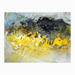 Bright Yellow Abstract Canvas 20  X 30   by timelessartoncanvas