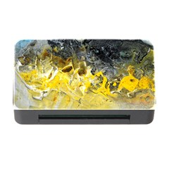 Bright Yellow Abstract Memory Card Reader With Cf by timelessartoncanvas