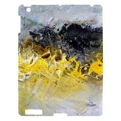 Bright Yellow Abstract Apple Ipad 3/4 Hardshell Case by timelessartoncanvas