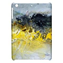 Bright Yellow Abstract Apple Ipad Mini Hardshell Case by timelessartoncanvas