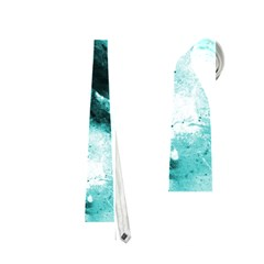 Turquoise Abstract Neckties (one Side)