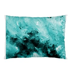 Turquoise Abstract Pillow Cases