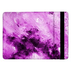 Bright Pink Abstract Samsung Galaxy Tab Pro 12 2  Flip Case by timelessartoncanvas