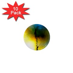Watercolor Abstract 1  Mini Magnet (10 Pack)  by timelessartoncanvas