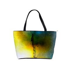 Watercolor Abstract Shoulder Handbags by timelessartoncanvas