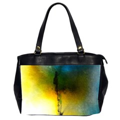 Watercolor Abstract Office Handbags (2 Sides)  by timelessartoncanvas