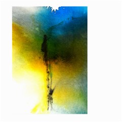 Watercolor Abstract Large Garden Flag (two Sides) by timelessartoncanvas