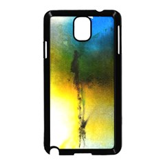 Watercolor Abstract Samsung Galaxy Note 3 Neo Hardshell Case (black) by timelessartoncanvas