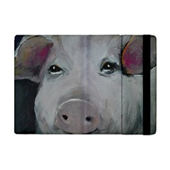 Piggy No  1 Apple Ipad Mini Flip Case by timelessartoncanvas