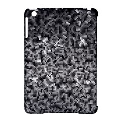 Gray Cubes Apple Ipad Mini Hardshell Case (compatible With Smart Cover) by timelessartoncanvas
