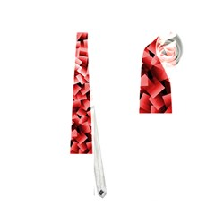 Red Cubes Neckties (one Side)