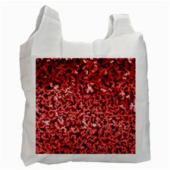 Red Cubes Recycle Bag (one Side)