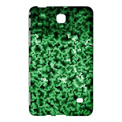 Green Cubes Samsung Galaxy Tab 4 (7 ) Hardshell Case  by timelessartoncanvas