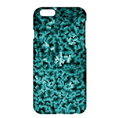 Teal Cubes Apple iPhone 6 Plus Hardshell Case by timelessartoncanvas