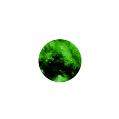 Bright Green Abstract 1  Mini Buttons by timelessartoncanvas