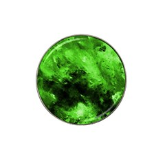 Bright Green Abstract Hat Clip Ball Marker (4 Pack)