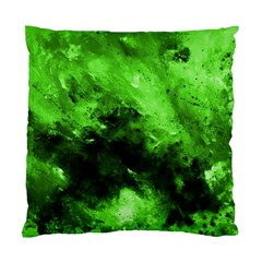 Bright Green Abstract Standard Cushion Case (one Side)