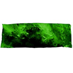 Bright Green Abstract Body Pillow Cases (dakimakura)