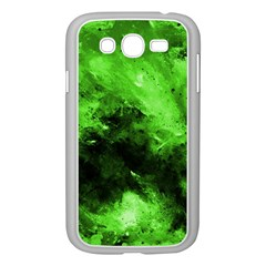 Bright Green Abstract Samsung Galaxy Grand Duos I9082 Case (white)