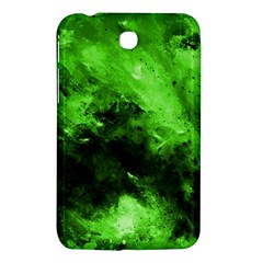 Bright Green Abstract Samsung Galaxy Tab 3 (7 ) P3200 Hardshell Case  by timelessartoncanvas
