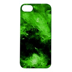 Bright Green Abstract Apple Iphone 5s Hardshell Case