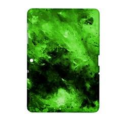 Bright Green Abstract Samsung Galaxy Tab 2 (10 1 ) P5100 Hardshell Case