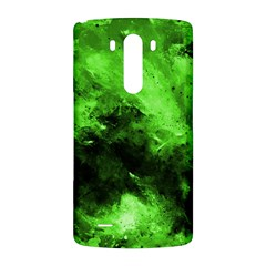 Bright Green Abstract LG G3 Back Case by timelessartoncanvas