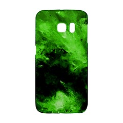Bright Green Abstract Galaxy S6 Edge