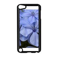 Bright Blue Flowers Apple Ipod Touch 5 Case (black) by timelessartoncanvas