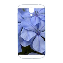 Bright Blue Flowers Samsung Galaxy S4 I9500/i9505  Hardshell Back Case by timelessartoncanvas