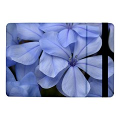 Bright Blue Flowers Samsung Galaxy Tab Pro 10 1  Flip Case by timelessartoncanvas