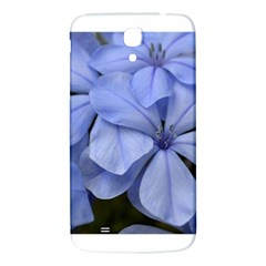 Bright Blue Flowers Samsung Galaxy Mega I9200 Hardshell Back Case by timelessartoncanvas