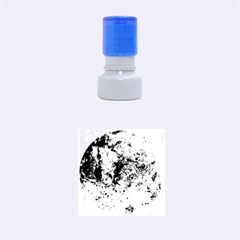 Space Pollen Rubber Round Stamps (small)