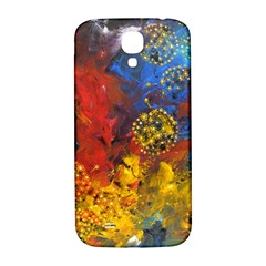 Space Pollen Samsung Galaxy S4 I9500/i9505  Hardshell Back Case by timelessartoncanvas