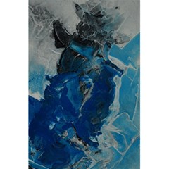 Blue Abstract 5 5  X 8 5  Notebooks by timelessartoncanvas