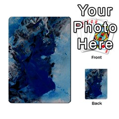 Blue Abstract No 2 Multi Purpose Cards (rectangle)  by timelessartoncanvas