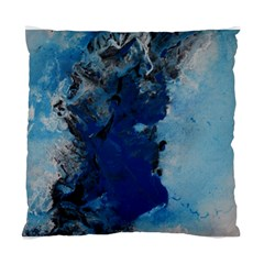Blue Abstract No 2 Standard Cushion Cases (two Sides)  by timelessartoncanvas