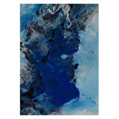 Blue Abstract No 2 5 5  X 8 5  Notebooks by timelessartoncanvas