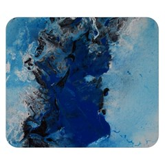 Blue Abstract No 2 Double Sided Flano Blanket (small)  by timelessartoncanvas